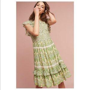Varun Bahl beaded green dress